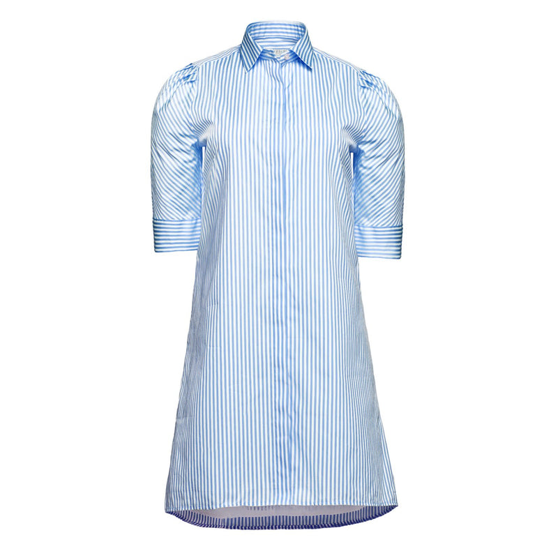 Tracy Dress in Blue Stripe
