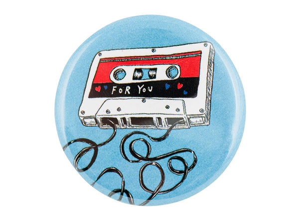 For You - Shortwave Mixtape Vol. 1 Button
