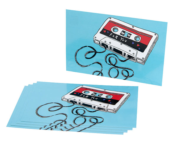 For You - Shortwave Mixtape Vol. 1 Postcard (Pack of 5)