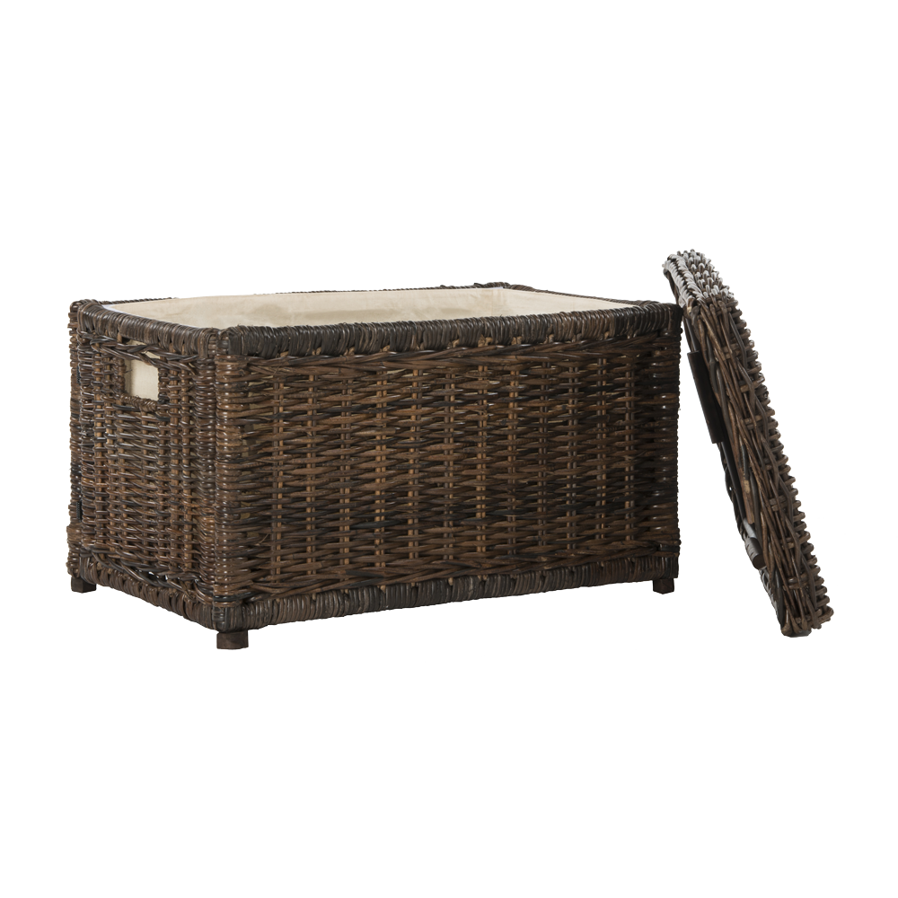 "Elijah 30"" Wicker Storage Trunk"