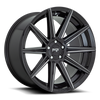 Niche Tifosi, 20 x 9 inch, 5112 PCD, ET27 Gloss Black / Milled