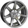 7Twenty Style 55, 17 x 8.5 inch, 5120 PCD, ET7, Set of Four, Hyper Black