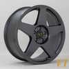 6Performance Loaded 02, 20 x 8.5 Inch, 5x120 PCD, ET45, Gunmetal, Set Of Four