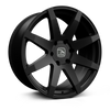 HAWKE WHEELS Knox, 20 x 9 inch , 6-139 PCD, ET30,Matt Black, Set of four