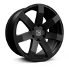 HAWKE WHEELS Summit XD, 20 x 9 inch , 6-139 PCD, ET30,Matt Black, Set of four