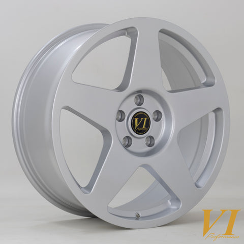 6Performance Loaded 02, 20 x 8.5 inch, 5x120 PCD, ET45, Silver, Set Of Four