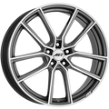AEZ - Raise 8.0x18 (Gunmetal / Polished) 5x114.3 PCD, Set of four