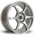 Rota Boost, 17 x 7.5 inch, 5114 PCD, ET45, Steelgrey, Set of Four