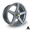 Autostar Chicane, 19 x 9.5 inch, 5120 PCD, ET35, FGunmetal, Set of Four