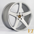 6Performance CVO, 20 x 9 inch, 5120 PCD, ET40, PFGunmetal, Set of Four