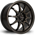 Rota Fight, 17 x 8 inch, 5100~5114 PCD, ET48, Gunmetal, Set of Four
