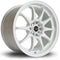 Rota Fight, 17 x 9 inch, 5100~5114 PCD, ET50, White, Set of Four