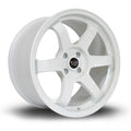 Rota Grid, 17 x 9.5 inch, 5114 PCD, ET12, White, Set of Four