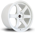 Rota Grid, 18 x 9.5 inch, 5114 PCD, ET20, White, Set of Four