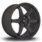 Rota Grid, 19 x 9.5 inch, 5120 PCD, ET45, FBlack2, Set of Four