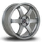 Rota Grid 2, 17 x 7.5 inch, 4108 PCD, ET25, Steelgrey, Set of Four