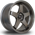 Rota GTR-D, 18 x 9.5 inch, 5114 PCD, ET25, Bronze, Set of Four