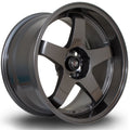 Rota GTR-D, 18 x 9.5 inch, 5114 PCD, ET25, Gunmetal, Set of Four