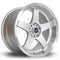Rota GTR-D, 18 x 9.5 inch, 5114 PCD, ET25, RLSilver, Set of Four