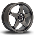 Rota GTR, 17 x 7.5 inch, 5114 PCD, ET45, HBlack, Set of Four