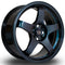 Rota GTR, 17 x 7.5 inch, 4100 PCD, ET35, NeoChrome, Set of Four