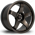 Rota GTR, 18 x 9.5 inch, 5114 PCD, ET30, Gunmetal, Set of Four