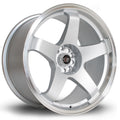 Rota GTR, 18 x 9.5 inch, 5114 PCD, ET30, RLSilver, Set of Four