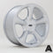 Autostar Legend, 18 x 8.5 inch, 4108 PCD, ET20, Monte Carlo Silver, Set of Four