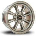 Rota RKR, 15 x 8 inch, 4x114 PCD, ET0, Steelgrey, Set of Four