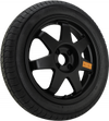 Road Hero - Spare Wheel Kit 4.0x17 (Black) 5x112 PCD, Set of four