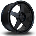 Rota Slip, 18 x 8.5 inch, 5100 PCD, ET44, FBlack, Set of Four