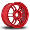 356 Wheels TFS3, 17 x 7.5 inch, 5x114 PCD, ET42, Red, Set of Four