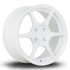 356 Wheels TFS4, 15 x 7 inch, 4x100 PCD, ET38, White, Set of Four
