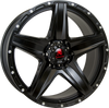 Tomahawk - Apache 8.0x18 (Satin Black) 6x139.7 PCD, Set of four