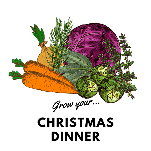 Grow Your Christmas Dinner! Organic Seeds