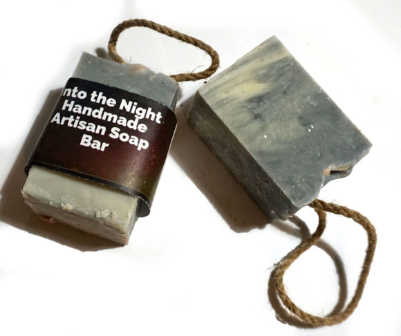 SMALL Into the Night Soap On A Rope 70G