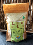 Lime and Coconut Bath Soak - Compostable pouch - 225g