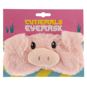Fun Eye Mask - Plush Cutiemals Pig EPP29