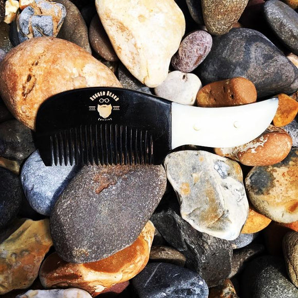 Pocket Beard & Moustache Comb