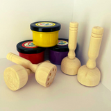 Wooden Paint Stamps: Pack of 4