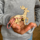 DIY Reindeer Decorations: Set of 9