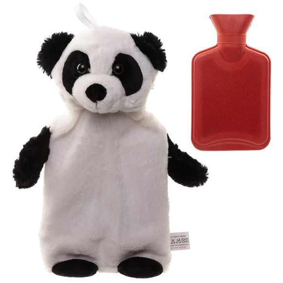 Cute Plush Pandarama Design 1 Litre Hot Water Bottle and Cover WARM43