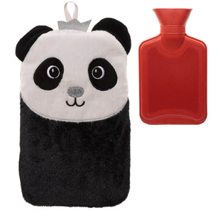 Cute Plush Pandarama Crown 1 Litre Hot Water Bottle and Cover WARM45