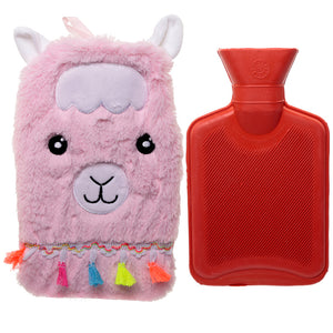 Cute Llamapalooza Design 1 Litre Hot Water Bottle and Cover WARM49