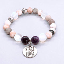 Load image into Gallery viewer, Start Today Charm Bracelet