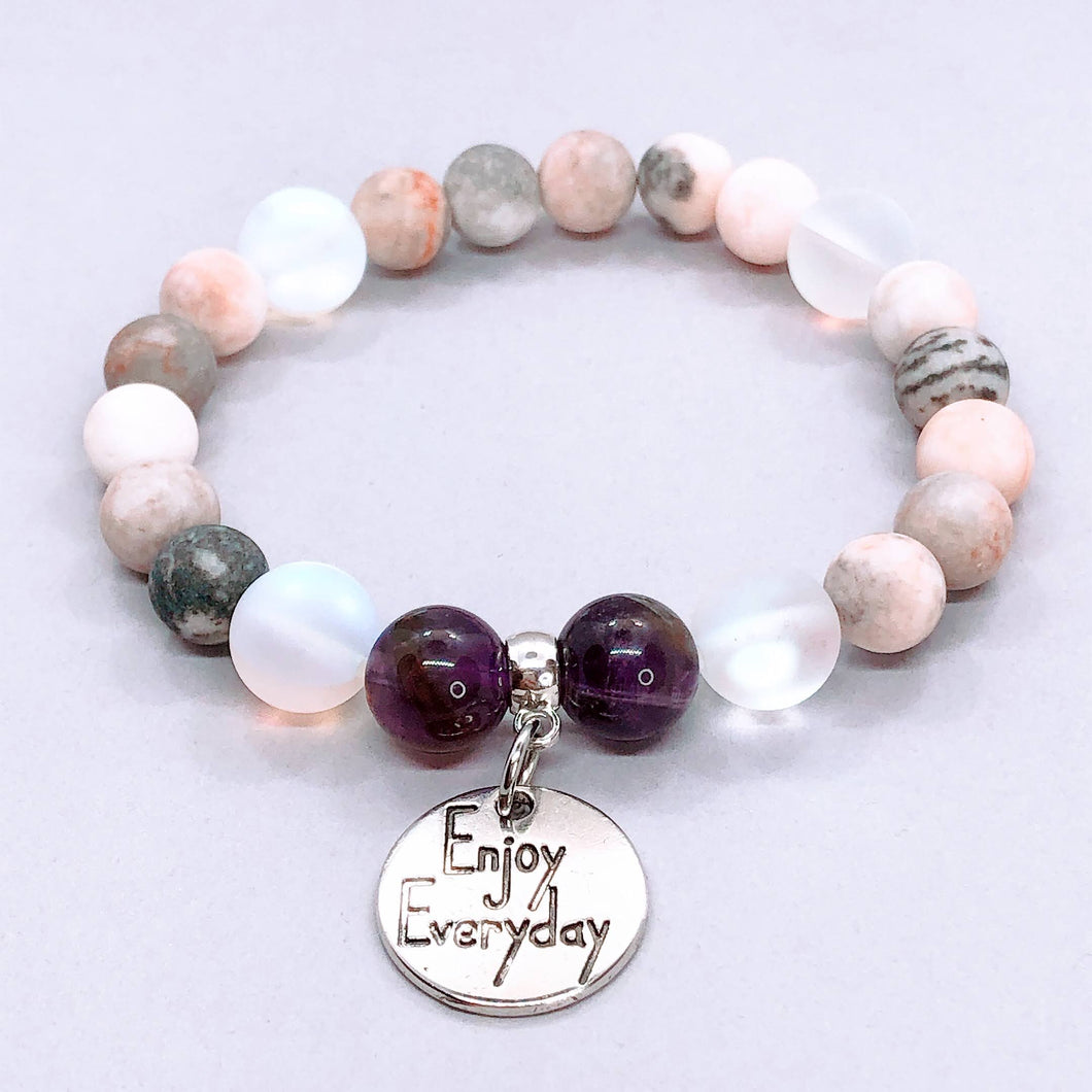 Enjoy Everyday Charm Bracelet