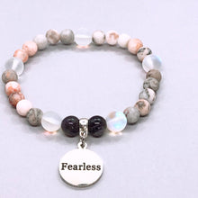Load image into Gallery viewer, Fearless Charm Bracelet