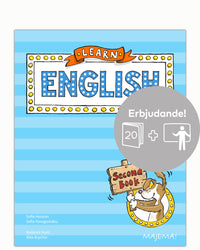 Learn English Second Book åk 2 - paket
