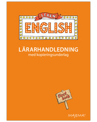 Learn English lärarhandledning åk 1