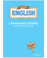 Learn English lärarhandledning åk 2